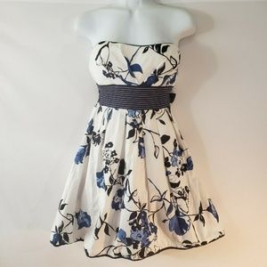Strapless Fit n Flare Floral Dress Xtraordinary Si
